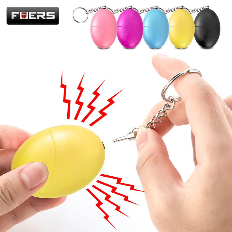 Fuers 1pcs 120DB Keychain Alarm Self Defense Women Security Personal Safety Scream Loud Self Defense Keychain Alarm Self Defence-in Self Defense Supplies from Security & Protection