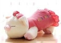 Thú nhồi bông 70 cm nằm pig plush toy xin chào bé lợn con búp bê ném gối quà tặng w4616