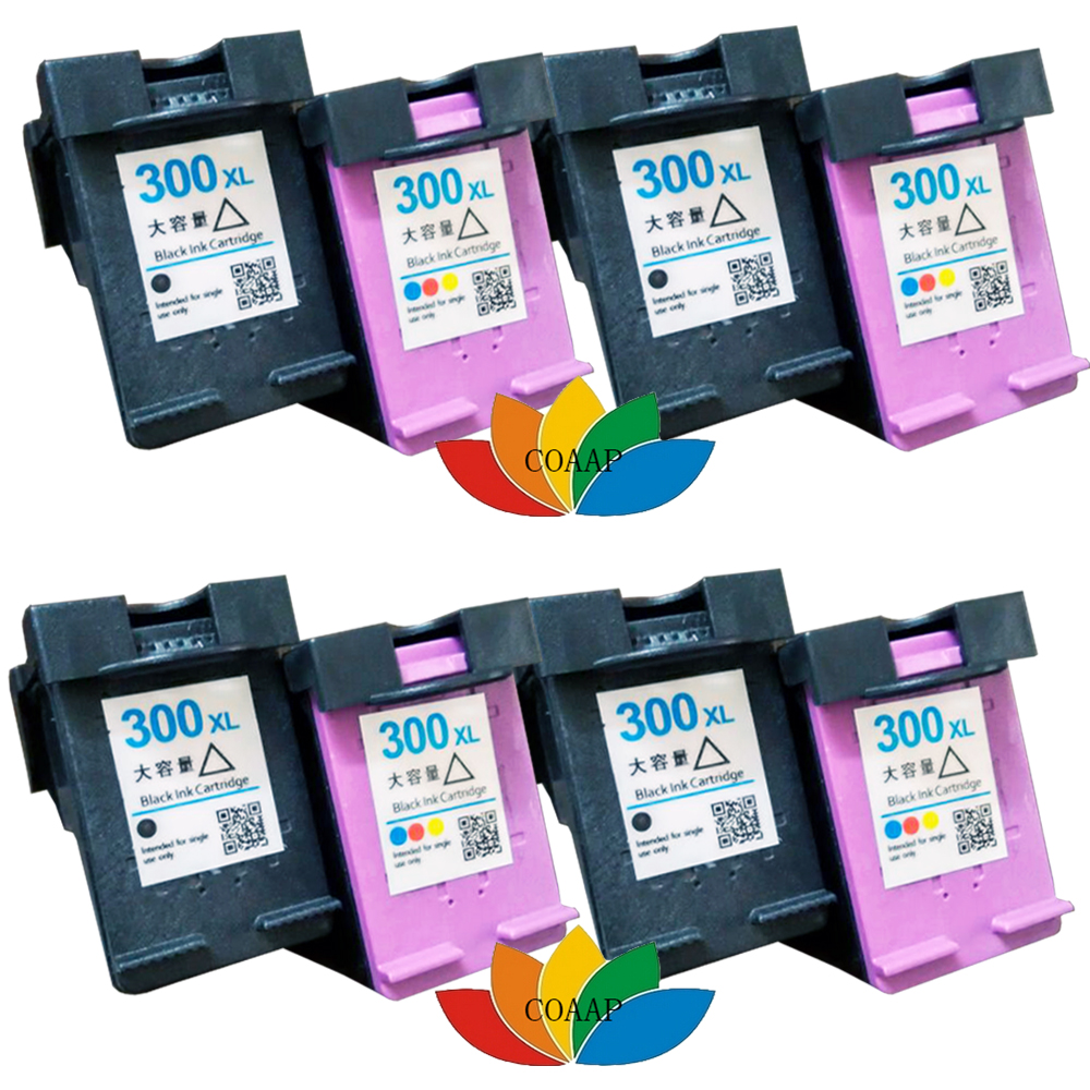 8 Compatible hp300 ink cartridge for HP Photosmart Envy 100 / 110 / 120 e-All-in-One Printer 5pcs for lg google nexus 5 lcd display touch screen digitizer assembly with frame d820 d821 replacement parts