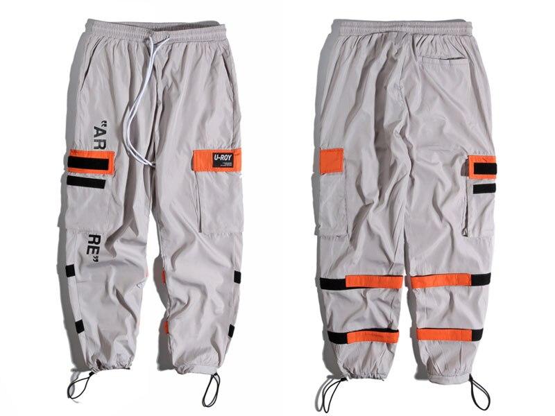 Side Pockets Cargo Harem Pants 2