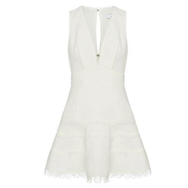 Summer Sleeveless Dress V...
