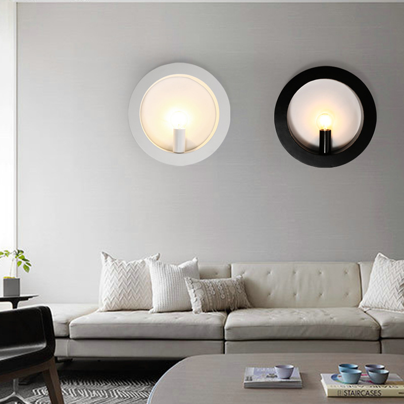 DONWEI LED Wall Lamp Modern Bedroom Beside Reading Wall ... on Wall Lighting For Living Room id=18455