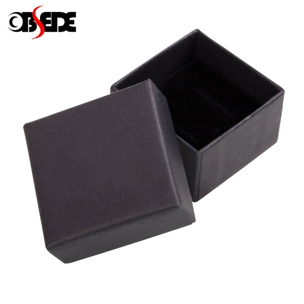 OBSEDE Plain Gift Box For Men Women Jewelry Rings Earrings Necklaces Bracelets Cardboard