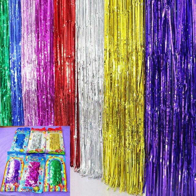 Pluie Rideau Multicolore 5 sacs/lot Scène Props Photo fond Halloween ...
