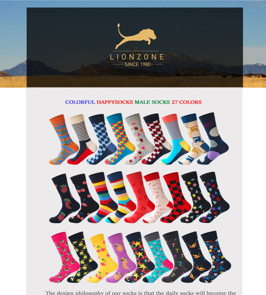 Underwear & Sleepwears Persevering High Quality Colorful Stripe Fashion Men Socks Harajuku Cotton Socks Autumn Creative Long Happy Socks For Men Meias