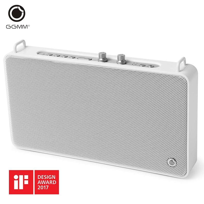 GGMM E5-200 Bluetooth Speaker Portable Wireless Speaker Column Home Theater Party Speaker Handsfree Call Stereo Sound for phones