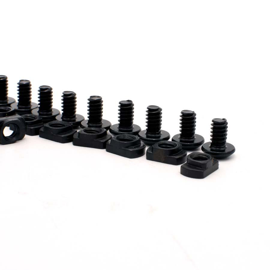 10 Pack M-LOK Screw and Nut Replacement Set for Rail Sections