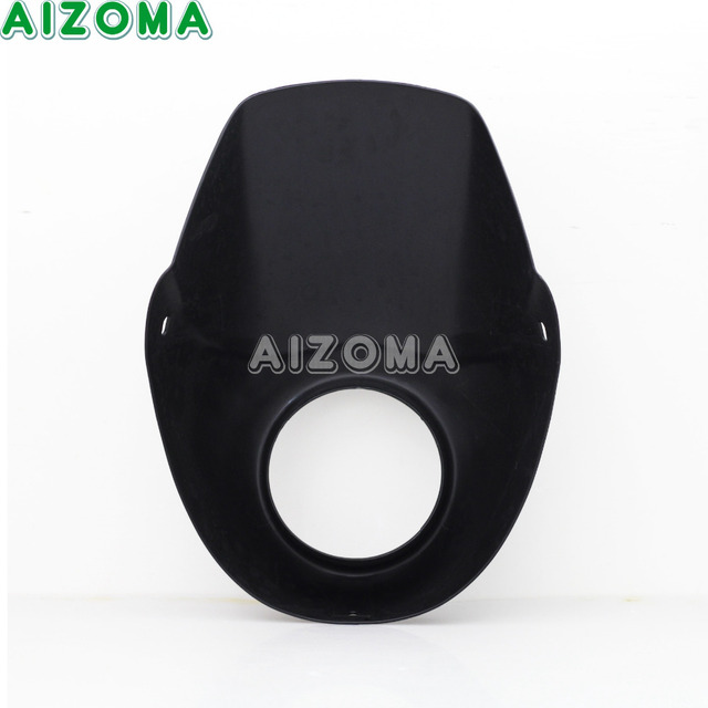 Black Motorcycles ABS Headlight Fairing Kit For Harley Street 500 750 Street Rod XG750A XG750 XG500 Headlamp Cover Mask 3