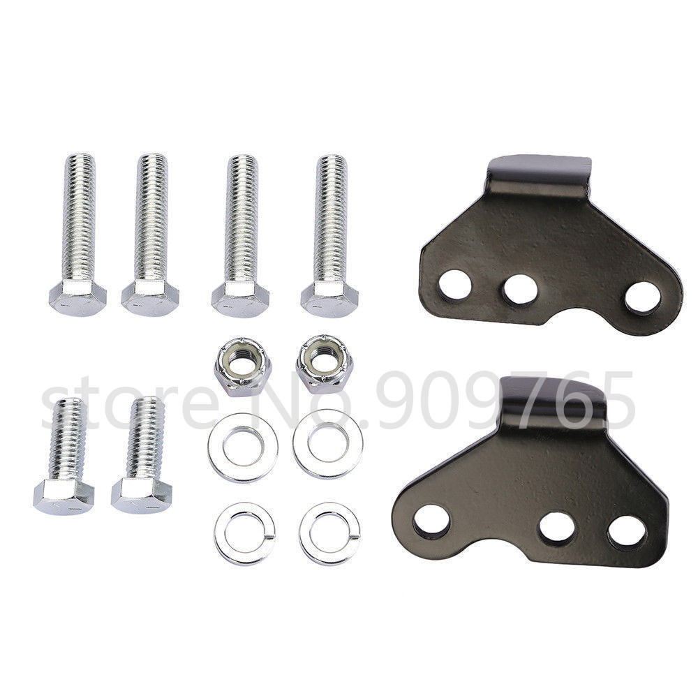 Adjustable 1-2 Lowering Drop Kit For Harley 93-01 Electra Glide Street Glide Touring Road King FLHX FLHT FLHR FLTR brand new mid frame air deflector trims for harley cvo limited road king electra glide street electra tri glide flhx 2009 2016