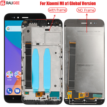 Lcd For Xiaomi Mi A1 Lcd Screen Display With Frame Digitizer Touch Panel Replacement For Xiaomi MiA1 A 1 Mi A1 Lcd Display