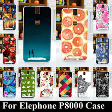 For Elephone P8000 (2015 edition ) Android 5.1Version tpu Soft Plastic Mobile Phone Cover Case DIY Cellphone Bag Shell