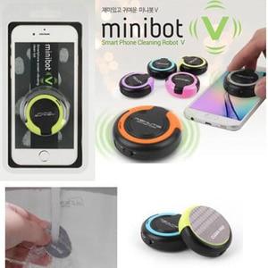 Image 4 - Hàn quốc thiết kế minibot v phổ tablet smartphone Di Động Màn Hình Rung Bụi Robot Lau Sữa Rửa Mặt dành cho làm sạch iPad iPhone
