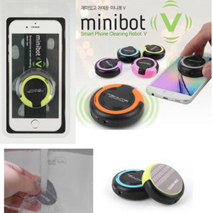Image 4 - Korea design minibot v universal tablet smartphone Mobile Screen Vibrating Cleaner Robot Wipe Cleanser for cleaning iPad iPhone