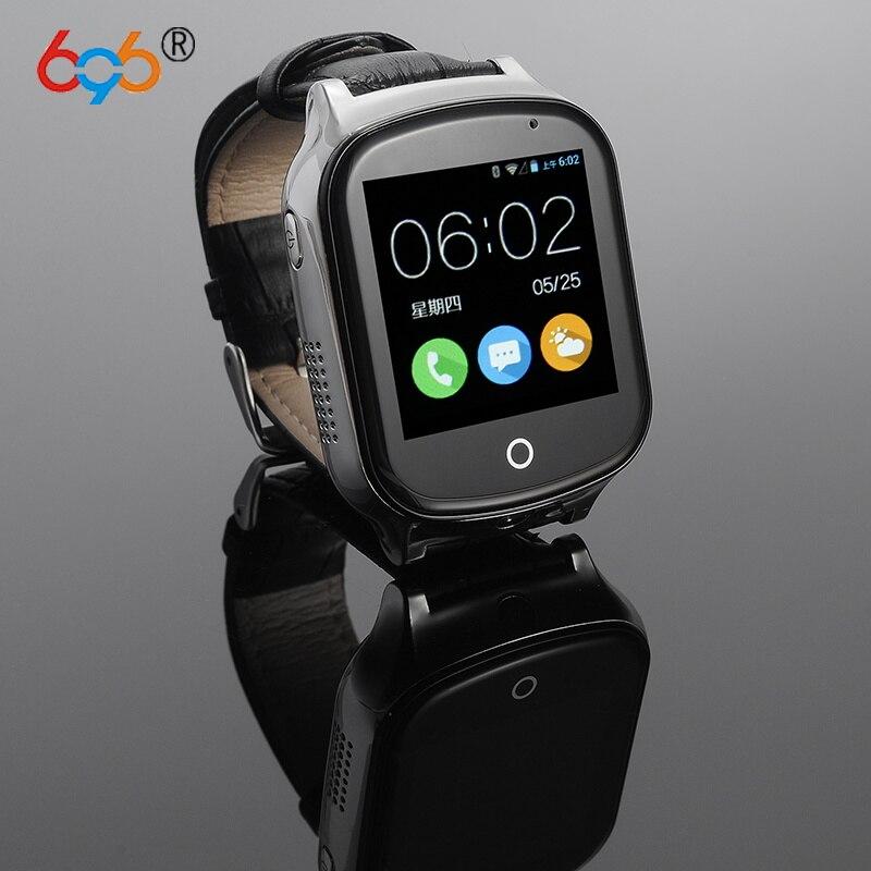 696 A19 3G Smart GPS Tracker Watch Kids Oldman Wristwatch