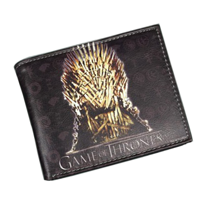 Comics DC Marvel Wallets Cartoon Anime Games of Thrones Purse PU Leather Gift Money Bags Dollar Price Card Holder Short Wallet new 70 years marvel comics wallets cartoon anime purse card money bags carteira masculina men women casual leather short wallet