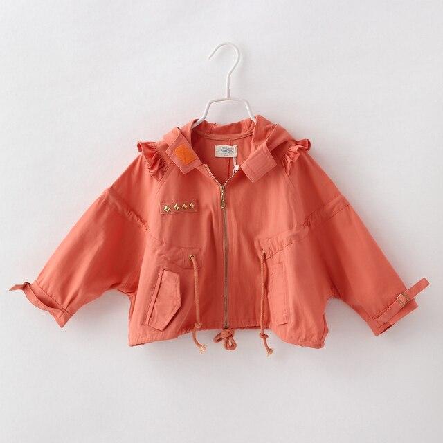 Дети Мода Твердые Hoddies Мода Новая Осень Верхняя Одежда Детская Одежда 6 шт./лот