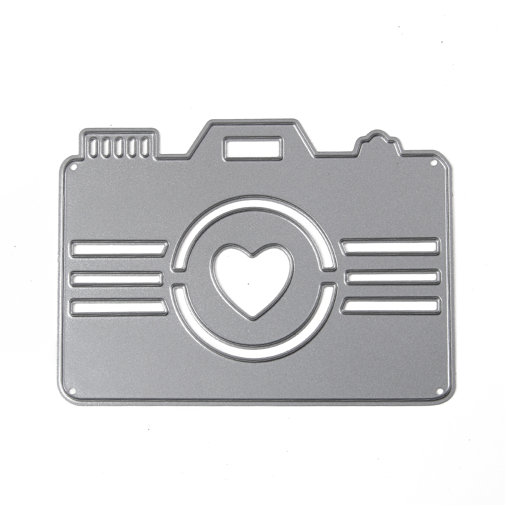 3 style Embossing Steel camera Star love Cutting Dies Stencils DIY Scrapbooking Card Album Photo Metal Craft