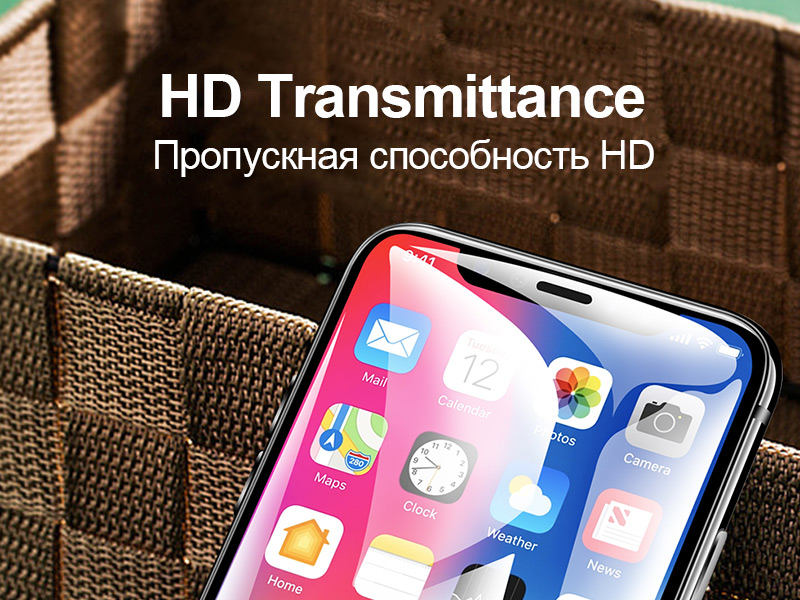 TOMKAS 6D Full Cover Curved Tempered Glass For iPhone X Screen Protector For iPhone 6 6S Plus 8 7 Plus Protective Glass Film