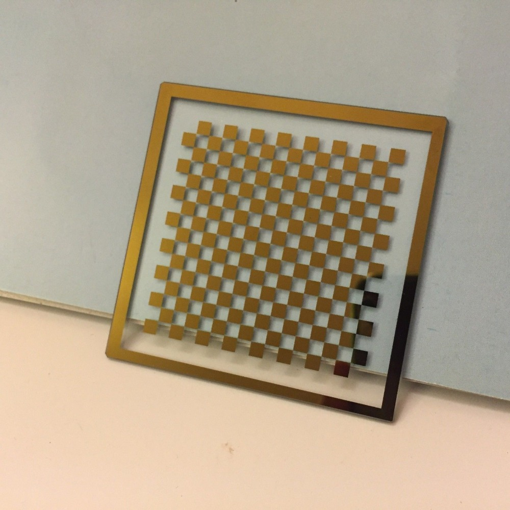 Chess board OpenCV Correct lens calibration plate 1mm 2mm 3mm 4mm 5mm