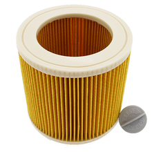 1 шт. Замена воздуха пыль фильтры, мешки для Karcher Пылесосы Запчасти HEPA фильтр-картридж WD2250 WD3.200 MV2 MV3 WD3