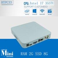 Mini Computer PC Green PC Intel Core I7 3537U 2GB Ram 8GB SSD 300M Wifi Windows