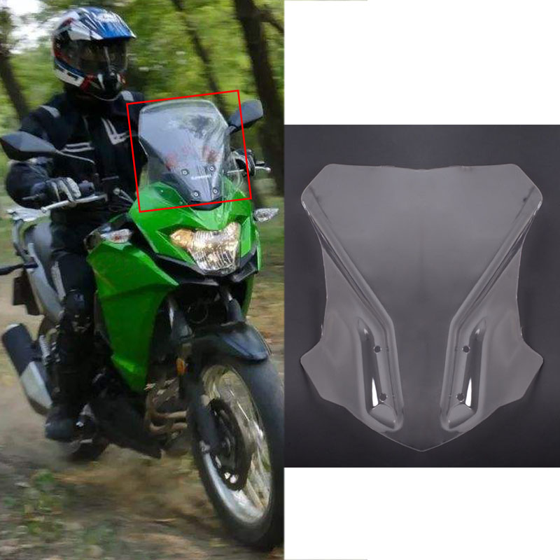 G310GS Windshield Motorcycle WindScreen Visor Viser Double Bubble Motorcycle parts For BMW G310 GS G 310