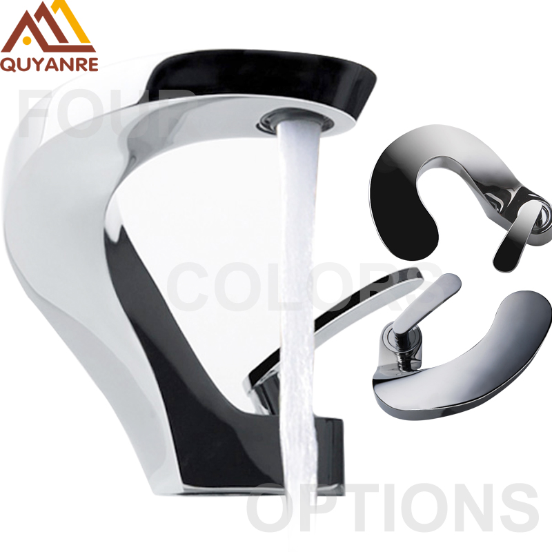 basin faucet new design brushed nickel basin faucet bathroom faucet one handle one hole hot cold mixer