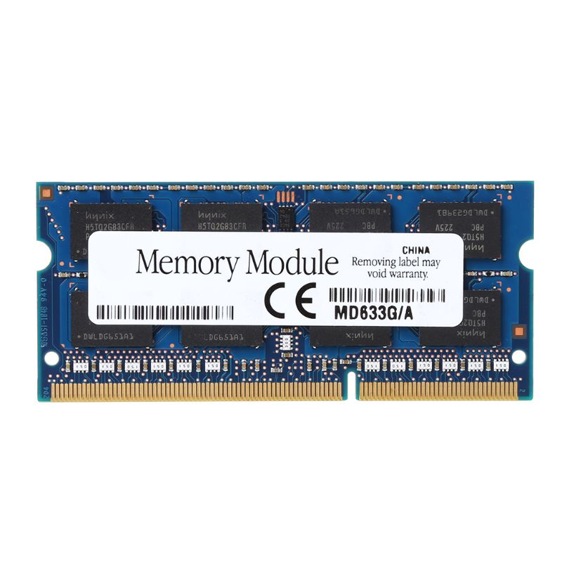 1Pc 4GB 2Rx8 PC3 12800 PC12800 Notebook RAM SO DIMM Memory Laptop DDR3 1600Mhz