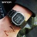 Спортивные военные мужские часы  повседневные часы  цифровые наручные часы из нержавеющей стали  водонепроницаемые часы  Relogio Masculino Erkek Kol Saati