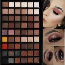 Professional 54 Colors Eye Shadow Palette Nude Matte Powder Eyeshadow Palette Makeup Shimmer Pigment Smoky Eye Shadow