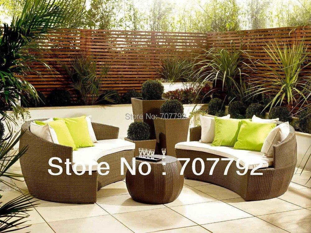 Best Price On Wicker Patio Furniture Merax 4 Pcs Patio