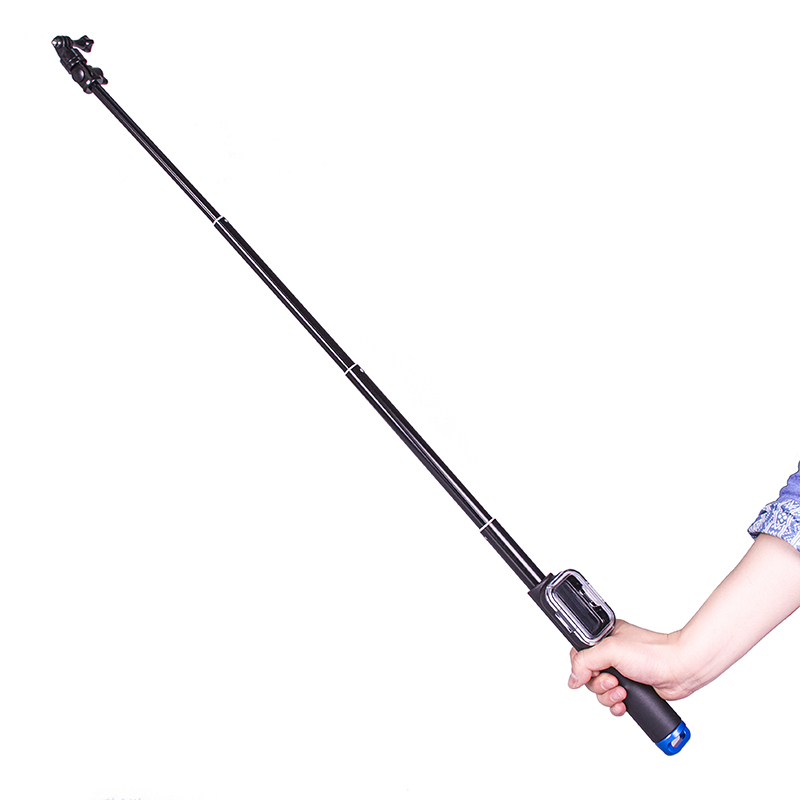 Free shipping hunter Goscope GP164 gopro 3 3 4 wireless monopod selfie stick bluetooth remote go