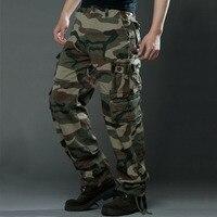 2016 Nuovi Uomini di Pantaloni Tattici Militari Uomini Uomo Camouflage Cargo Pants Uomo Tuta Pantaloni Casual di Grandi Dimensioni, Più 29 ~ 38 caldo