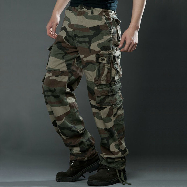 AYOME  Camouflage Cargo Pant
