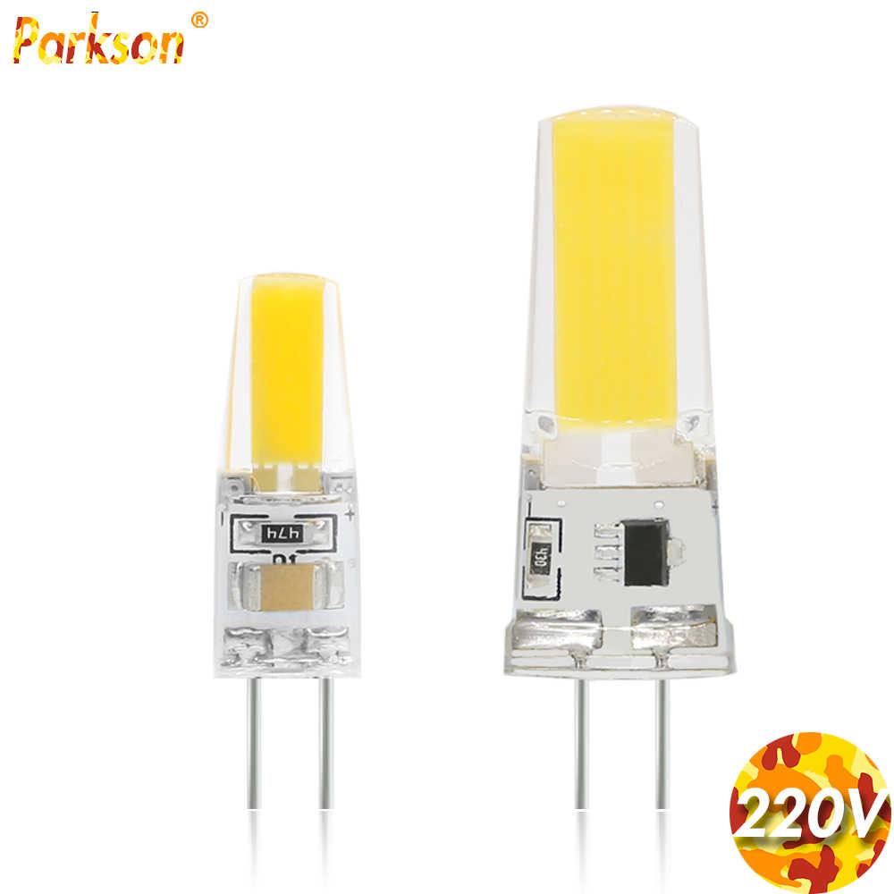 Bombillas G4 Bohlam Lampu LED 12V 220V Lampada LED Lampu Lampu G4 ACDC 12V Tongkol Mengganti 25W Lampu Sorot Halogen Lampu Gantung
