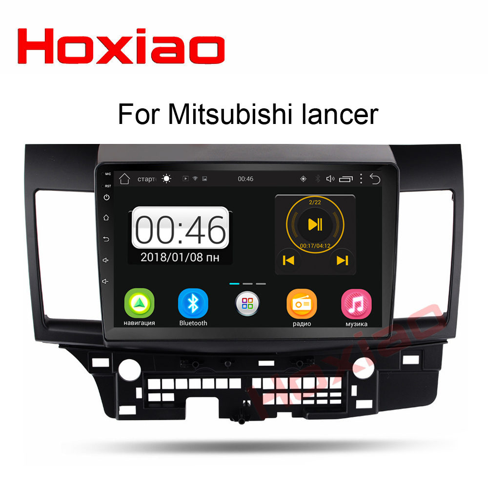 Android Car Radio for Mitsubishi lancer 10 inch 1024*600 Quad Core wifi Bluetooth video audio Multimedia 2 din car dvd player