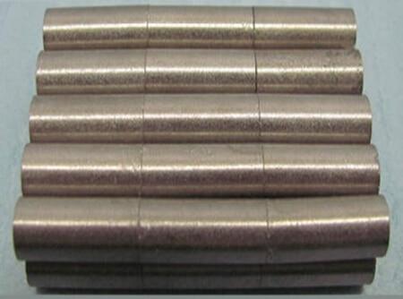 40pcs SmCo Magnet Disc Dia 6x15 mm cylinder grade YXG28H 350 degree C High Temperature Permanent