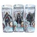 Assassins Creed 4 Bandera Negro Edward Kenway Connor Haytham Kenway PVC Figuras de Acción Juguetes nueva llegada