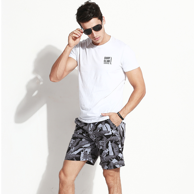 Gailang Brand Men beach Board shorts casual men Boxer Trunks Swimwear Swimsuits Gay boardshorts bermudas masculina de marca