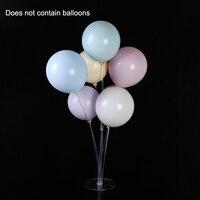 Принадлежности для дня рождения прозрачные 7 в 1 Подставка для воздушных шаров держатель на столе инструмент для украшения свадебной вечери