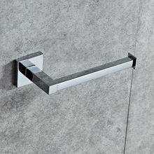 SRJ Hardware Accessories Stainless Steel Zinc Alloy Toilet Paper Holder Towel Rack Bathroom Storage