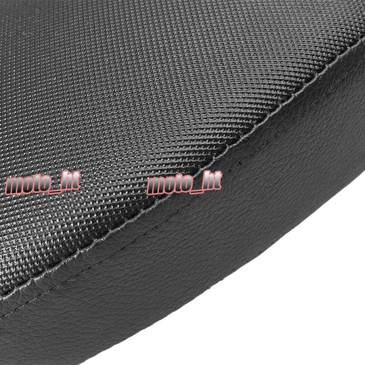 For H-D 48 Forty Eight XL1200X 2010 2011 2012 2013 2014 2015 Rear Back Passenger Seat Pillion Cushion Black