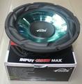 1 pcs High Power woofer Subwoofer 12 inch 200W 8 ohm woofer speaker 45HZ-4500HZ  for car amplifier Black strong paper cone