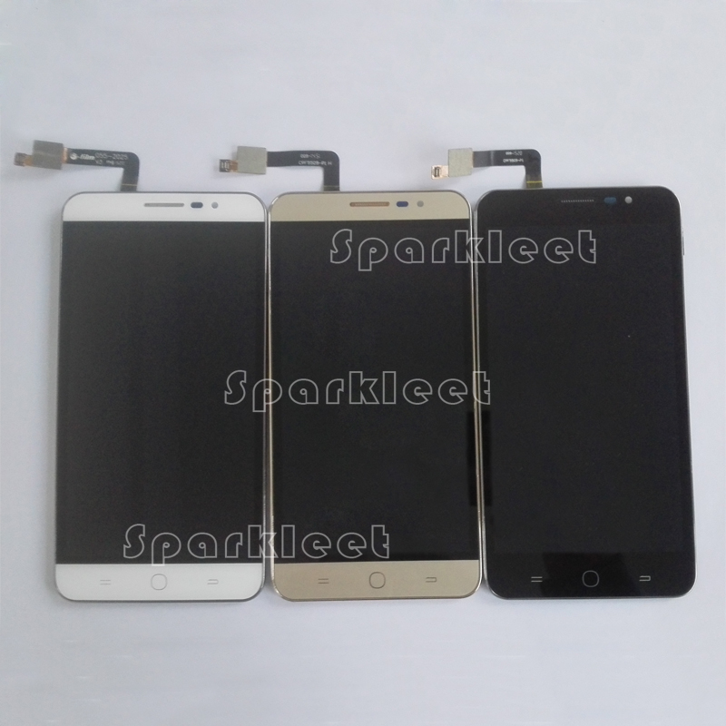 W/G/B 5.5 LCD Screen For Coolpad Modena E501 LCD Display Touch Screen Digitizer Assembly+Frame Replacement Free Shipping