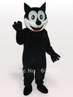 Hot sale! mascot costumes Happy Cat for sale Animal carnival costume Halloween Dress kids party free shipping
