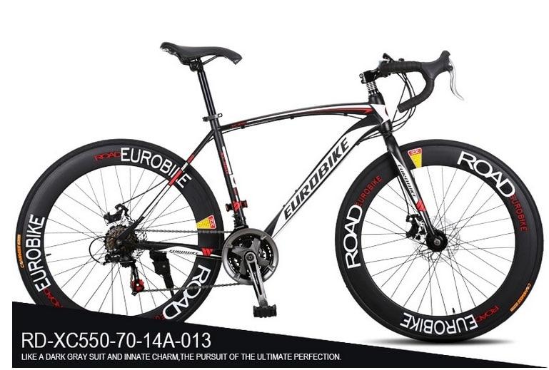 Xc550 eurobike bike 700*49 cm de acero de la bicicleta bicicleta de carretera 14