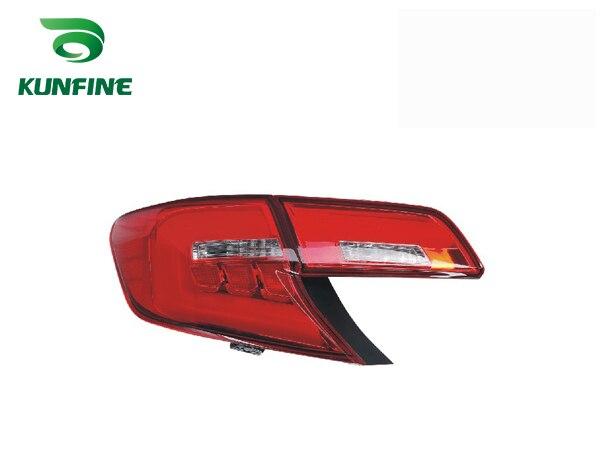 Пара KUNFINE автомобиля задний фонарь для Тойота Камри 2012-2014 Ближнем Востоке Версия стоп-сигнал с поворотом световой сигнал