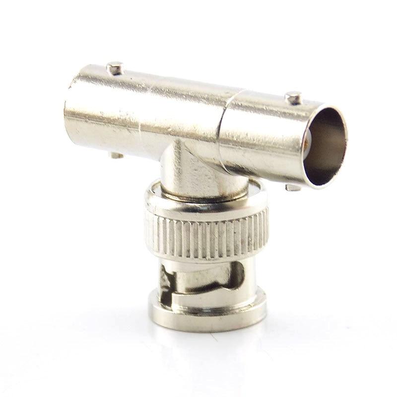 Lot of 3pcs BNC Tee Adapter Jack Plug Jack Coaxial Splitter