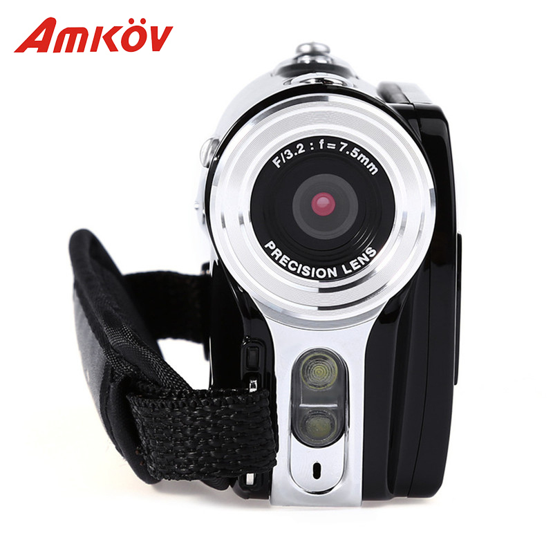 Amkov AMK-DV164 Digital Cameras Professional Camera 3 720P 20MP 20*16.2*12.2 cm Digital Zoom Video DV Video Camera HD Camera