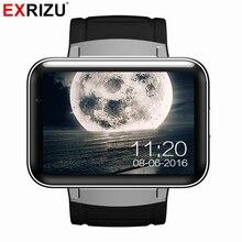 EXRIZU DM98 Android 4.4 OS Smart Watch Phone MTK6572 2.2 inch HD LED Screen 900mAh Battery 512M + 4G WCDMA GPS WIFI Smartwatch